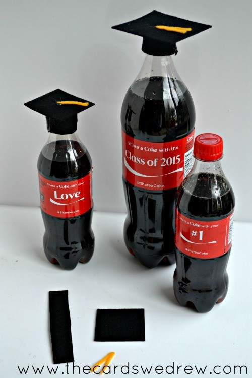 Easy Graduation Bottle Coke craft