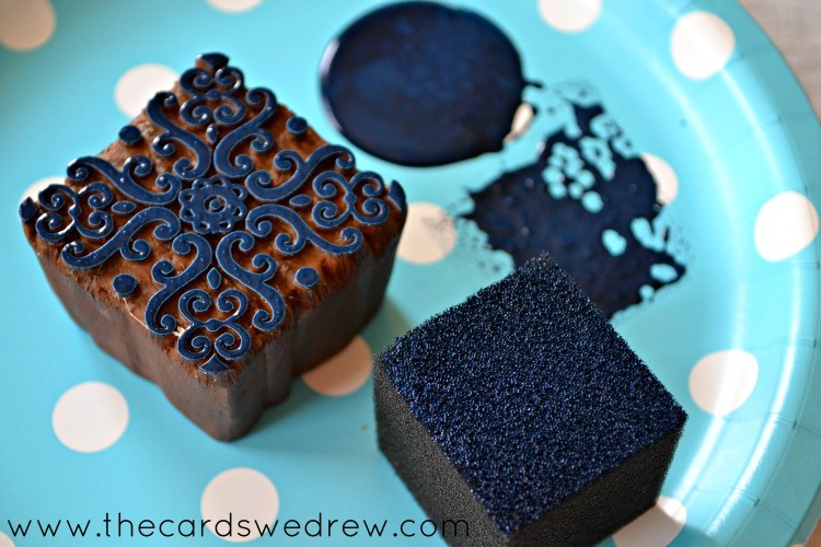 Fabric Creations Block Printing Stamps from Plaid