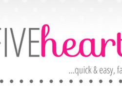 Five Heart Home Avatar + Logo + Tagline