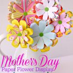 DIY Mother's Day Paper Flower Bouquet