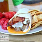 Chicken Bacon Cheddar Wrap
