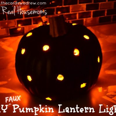 DIY Polka Dot Pumpkin Tutorial