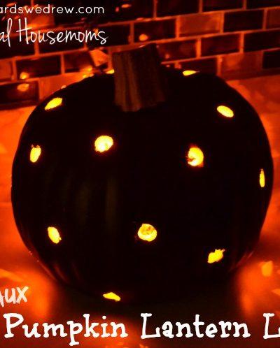 DIY Polka Dot Pumpkin Tutorial