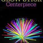 Glow in the Dark Glow Stick Centerpiece