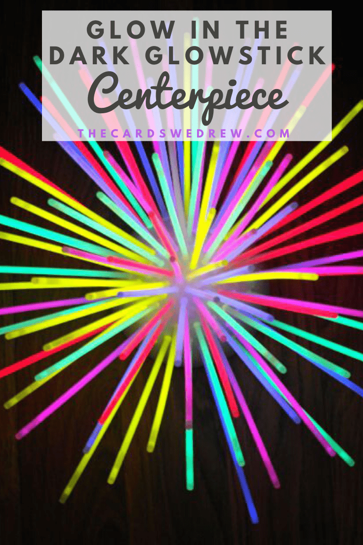 Glowstick Centerpiece