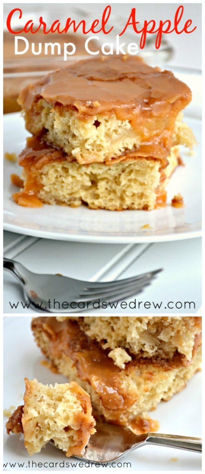 Apple Butterscotch Dump Cake