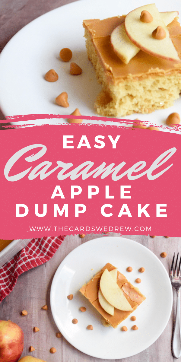 Easy Caramel Apple Dump Cake Recipe
