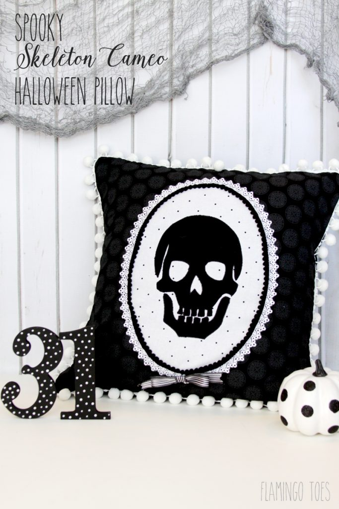 Spooky-Skeleton-Cameo-Halloween-Pillow