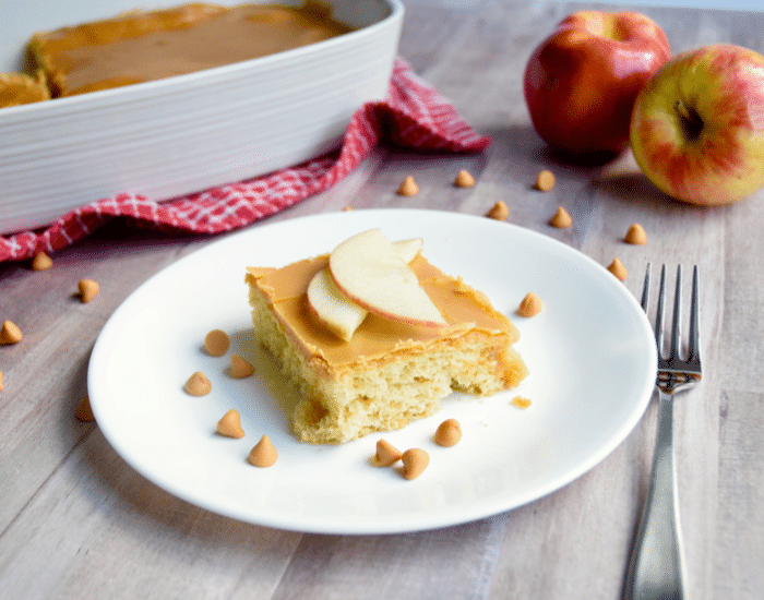 betty crocker caramel apple dump cake