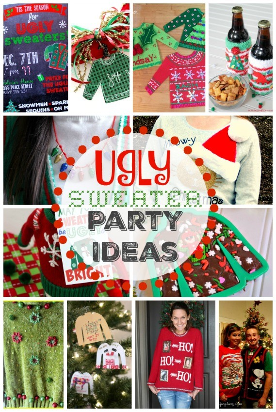 13 ugly sweater party ideas from top bloggers - Ugly Christmas Sweater Party Decorations