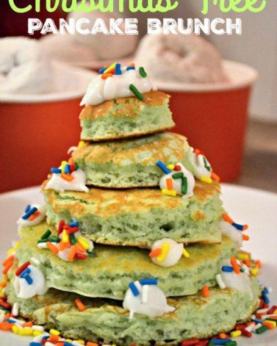 Christmas Tree Pancake Brunch
