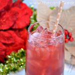 Cranberry Sweet Tea Holiday Drink
