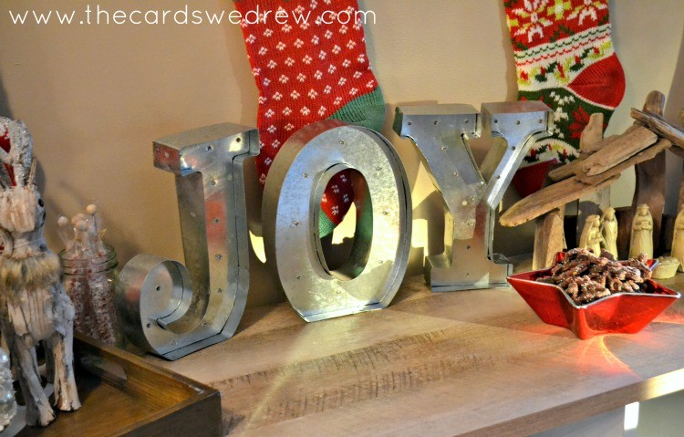 JOY Marquee Sign from World Market