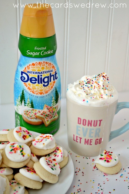 Kids Frosted Sugar Cookie Steamer Recipe with International Delight