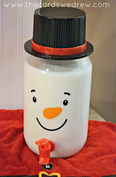 Snowman Drink Pitcher