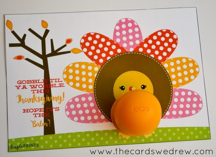 Thanksgiving Turkey EOS Printable