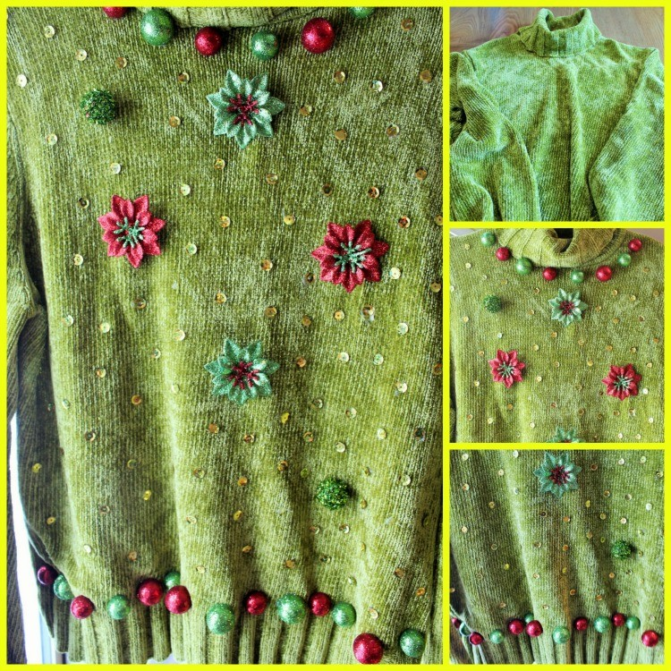 Ugly Green Sweater