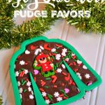 Ugly Sweater Fudge Idea + Giveaway
