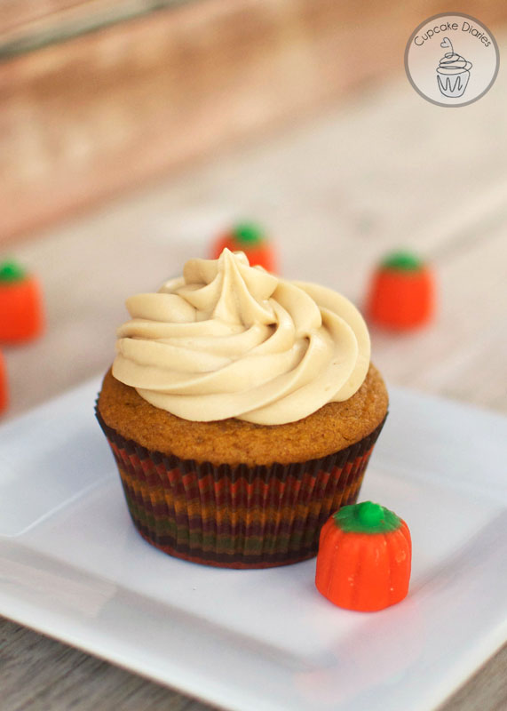 Sweet Potato Cupcakes With Maple Cream Cheese Frosting ...
