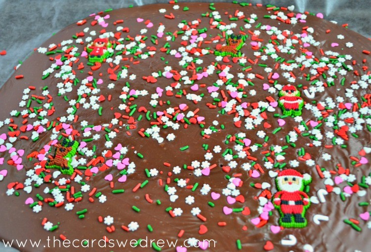 ugly sweater fudge idea
