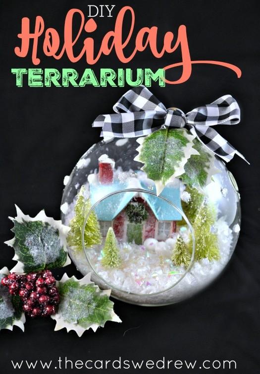 DIY Holiday Terrarium