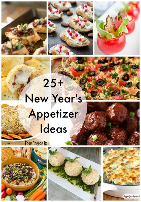 This New Year's Eve appetizer menu is full of all sorts of ideas for a Mediterranean small plates party: savory, sweet and cocktails too.