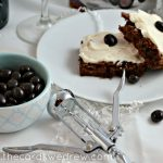 Red Wine Cream Cheese Frosted Brownies