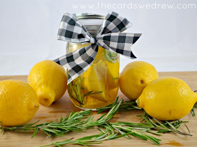 DIY Air Freshener in a jar
