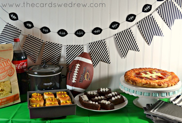 Easy Superbowl Party decor