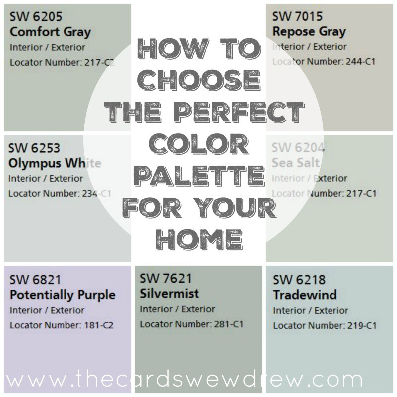 How to choose the perfect color palette for your home for Choose paint color scheme