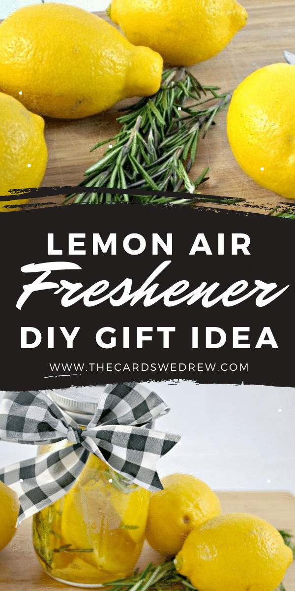 Lemon Air Freshener DIY Gift Idea