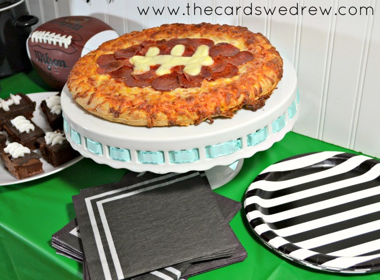 Super Bowl Party Ideas easy super bowl party ideas - the cards we drew