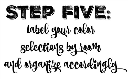 label your colors