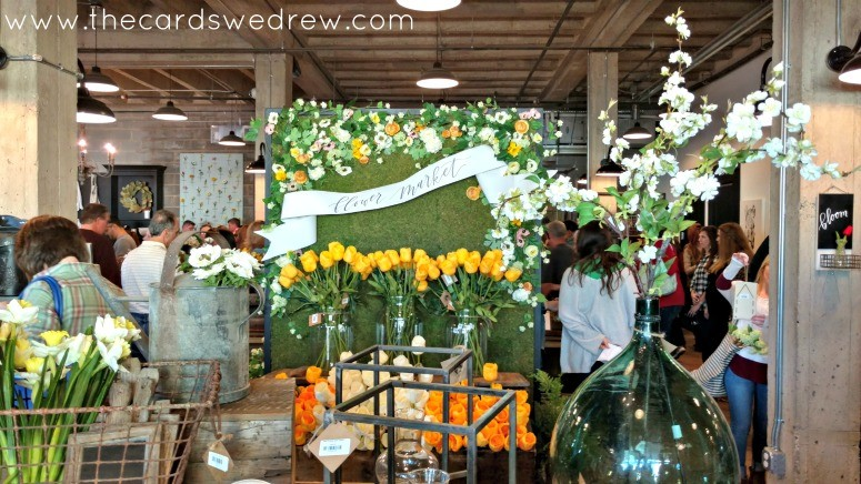 Magnolia Market Flower Display