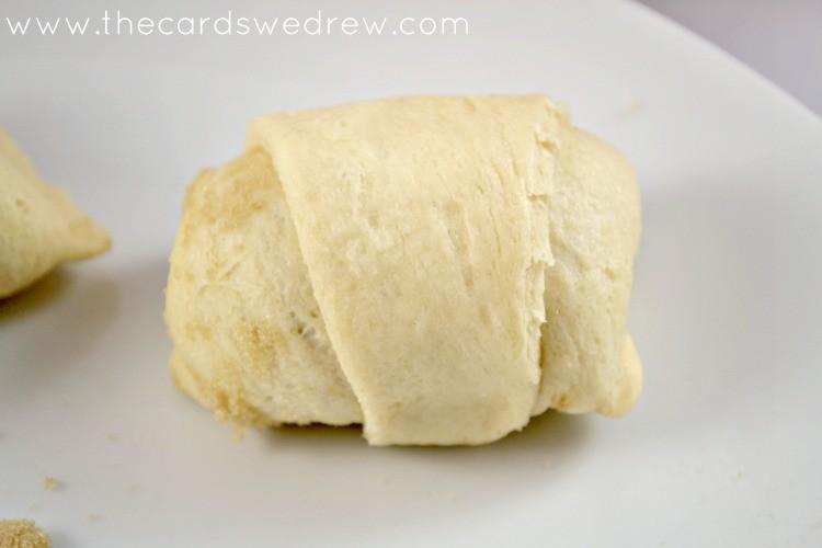 banana rollups uncooked