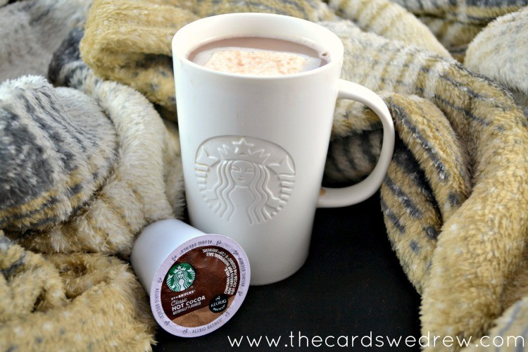 cozy up with starbucks hot cocoa