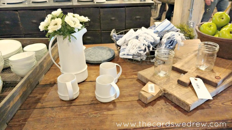 farmhouse decor at Magnolia Market