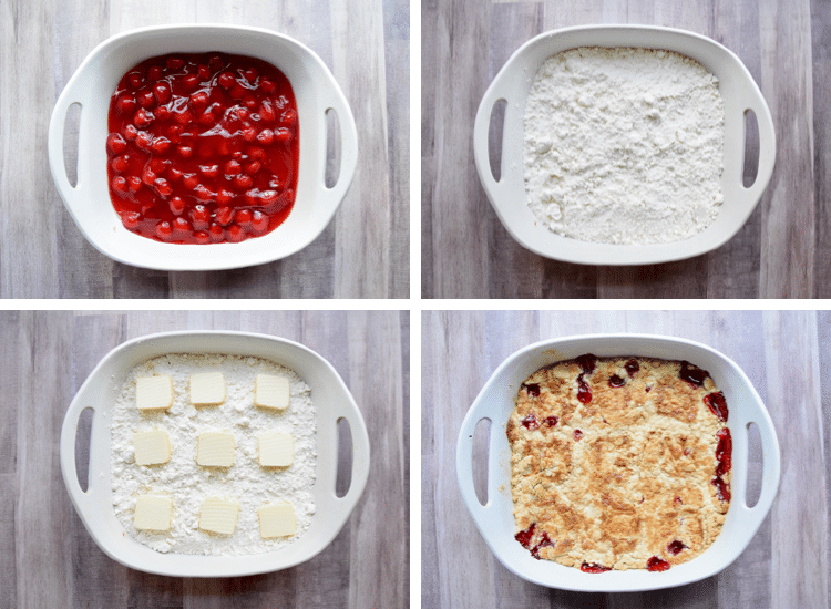 how to make cherry cobbler with cake mix