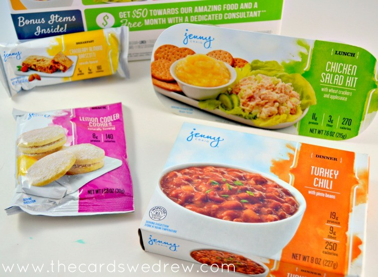 Jenny Craig Starter Kit at Walmart - The Cards We Drew