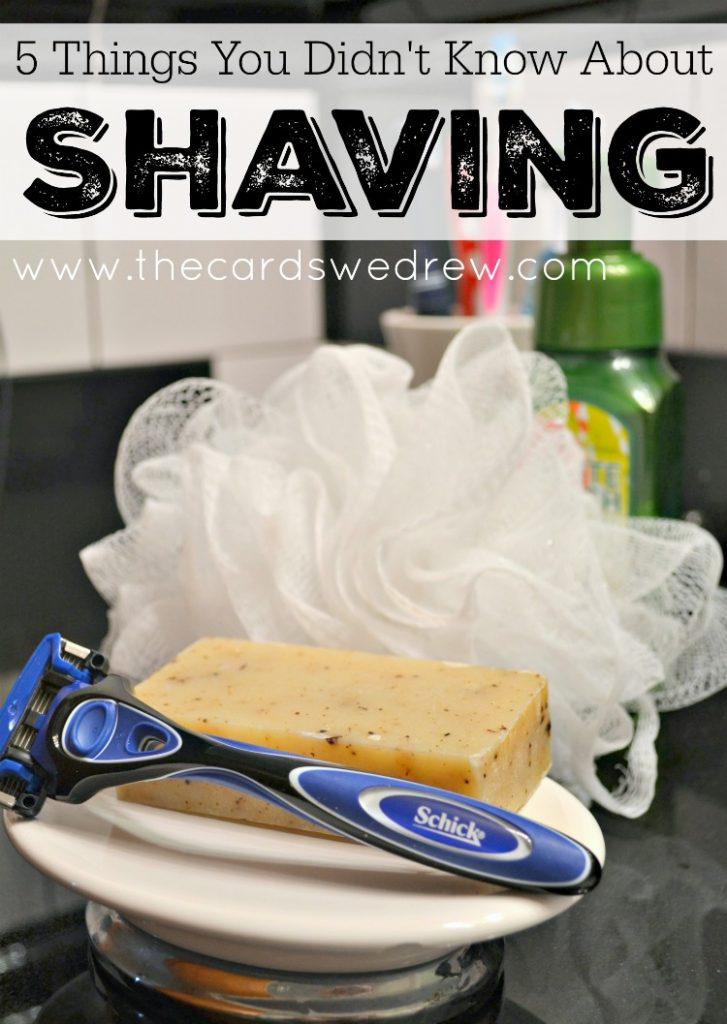 5 Things You Didn't Know About Shaving #ad