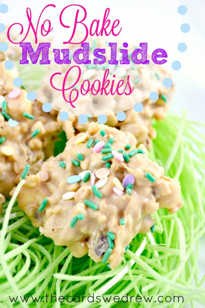 No Bake Mudslide Cookies from The Cards We Drew