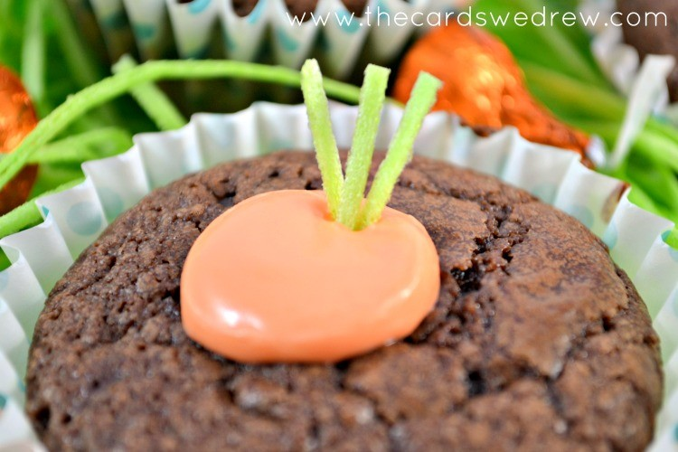 brownie carrot cups