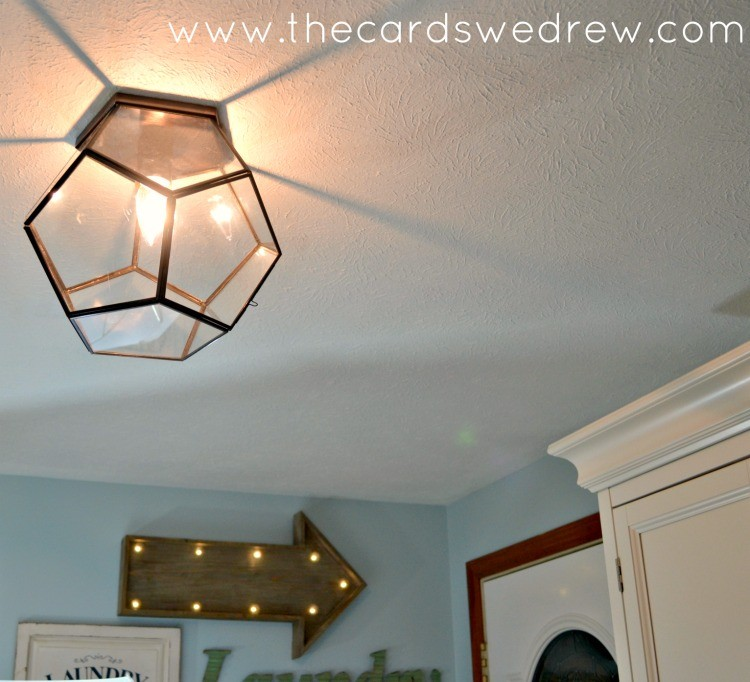 shades of light hexagon light fixture