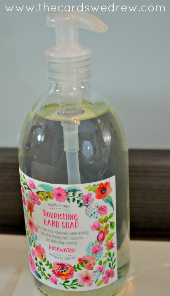 world market rosewater hand soap