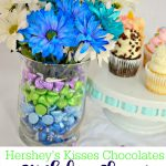 Hershey's Kisses Chocolates Birthday Flower Gift and Decoration Idea
