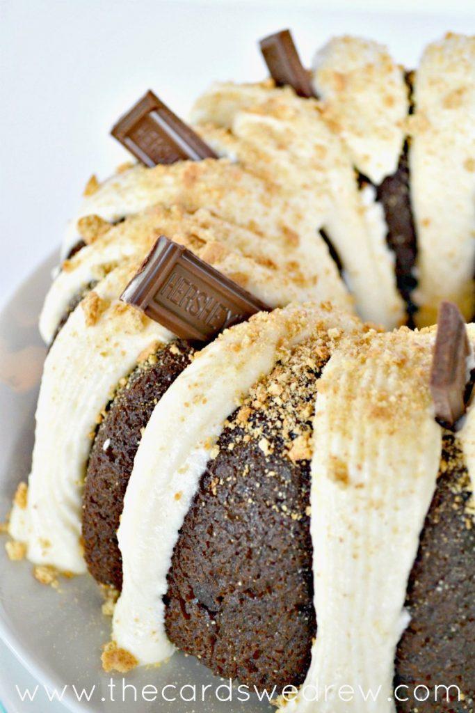 Smores Bundt Cake recipe