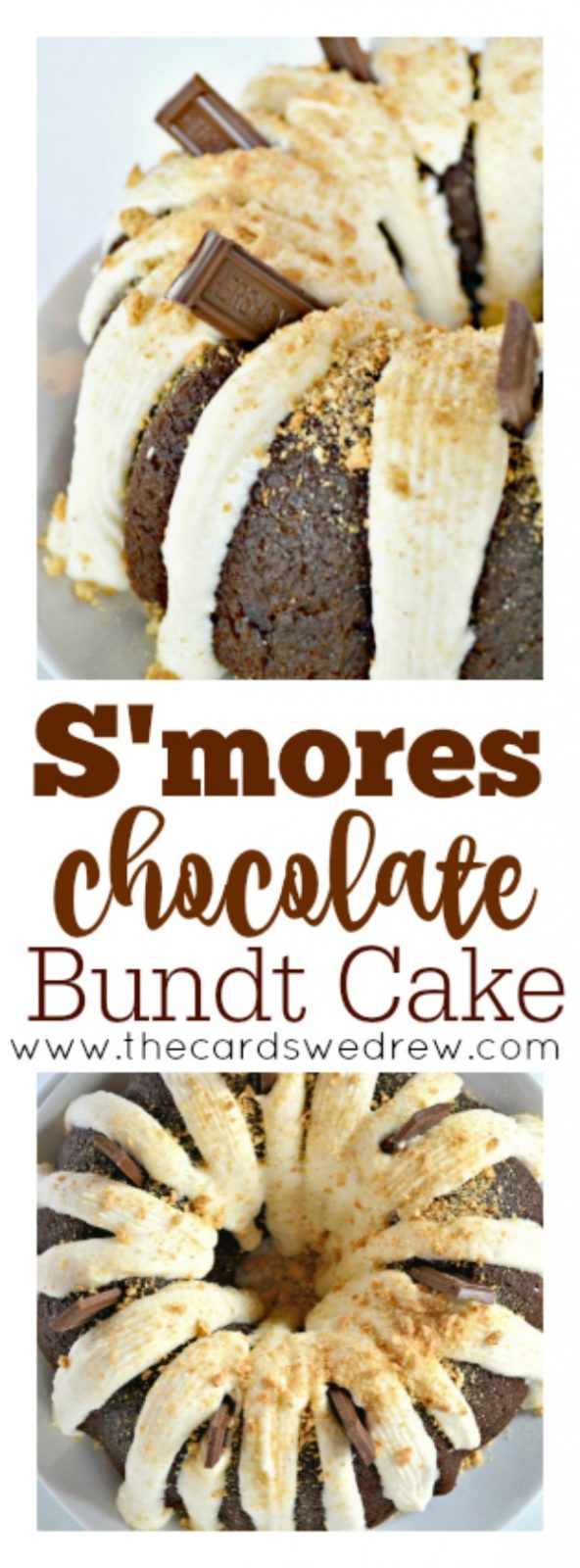S'mores Chocolate Bundt Cake recipe