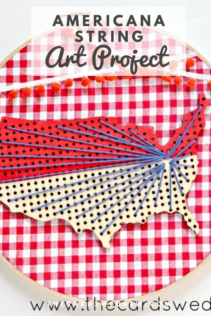Americana String Art Project