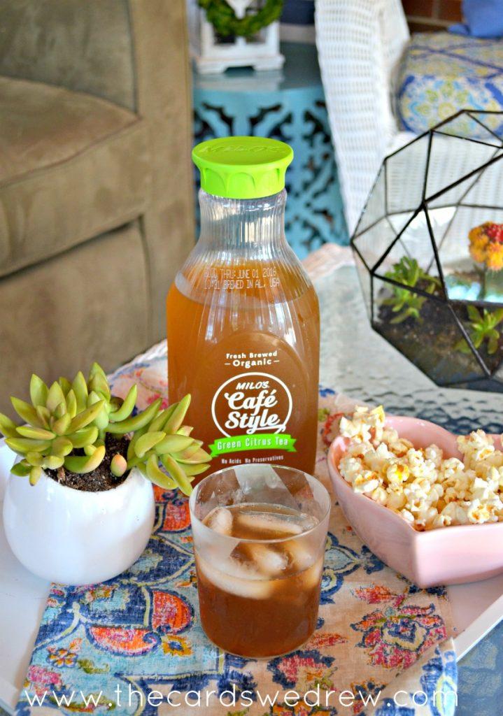 Milo's Cafe Style Green Citrus Tea