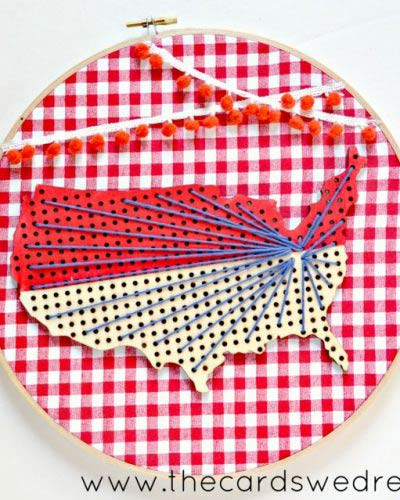 Americana Vintage String Creation